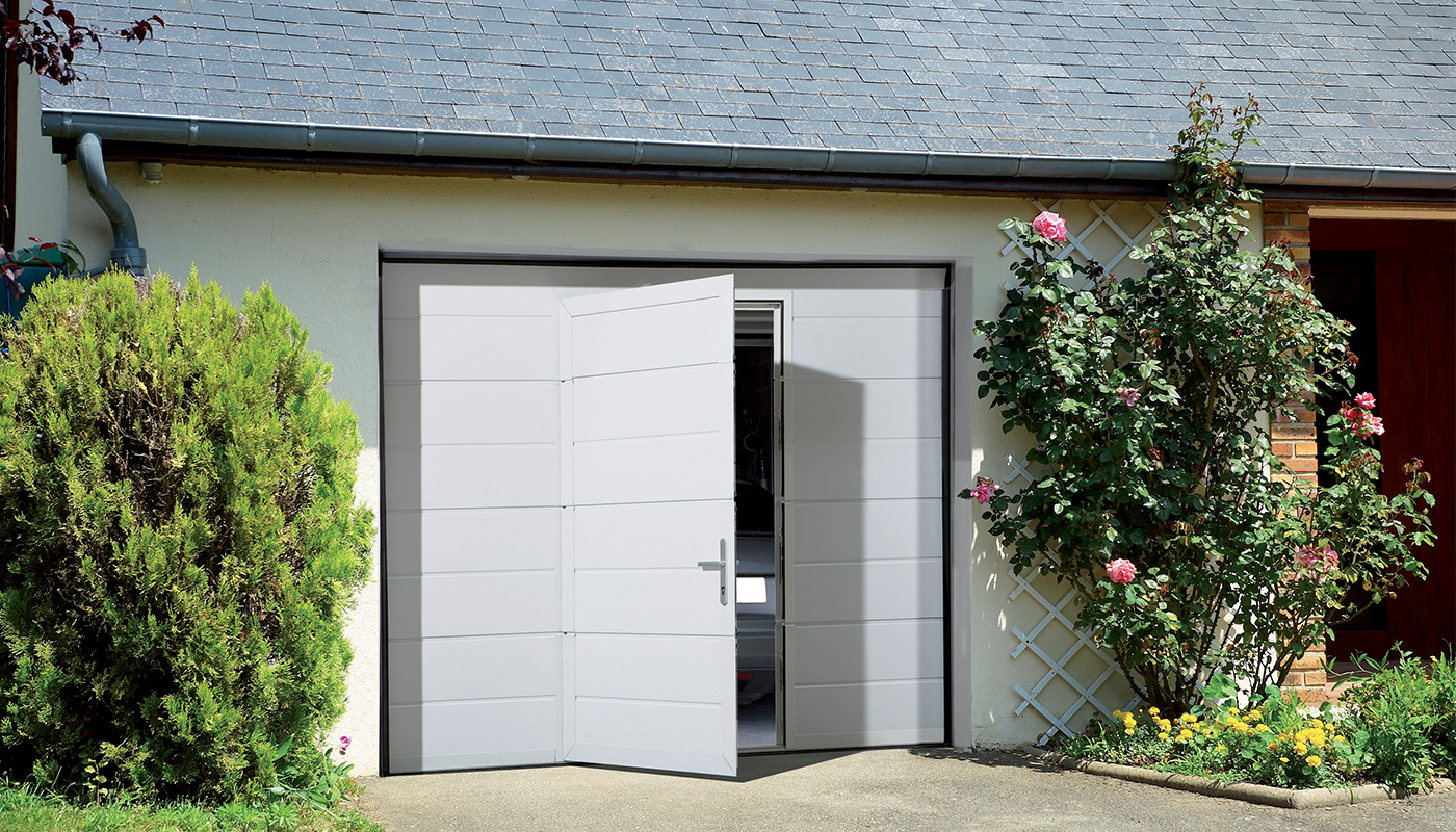 Portes sectionnelles futurol for Porte de garage en promotion